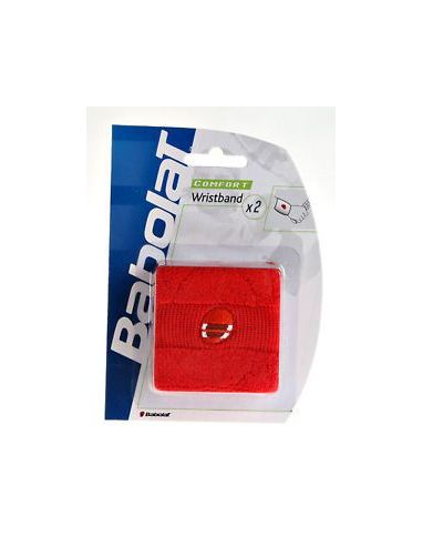 Напульсник Babolat Wristband x 2 Red купить в Киеве Украина