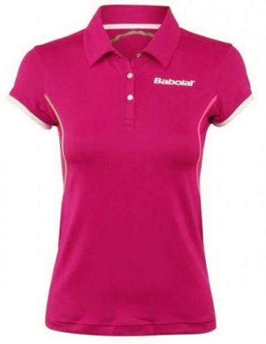 Тенниска женская Babolat Polo P W (Pink) купить в Киеве Украина
