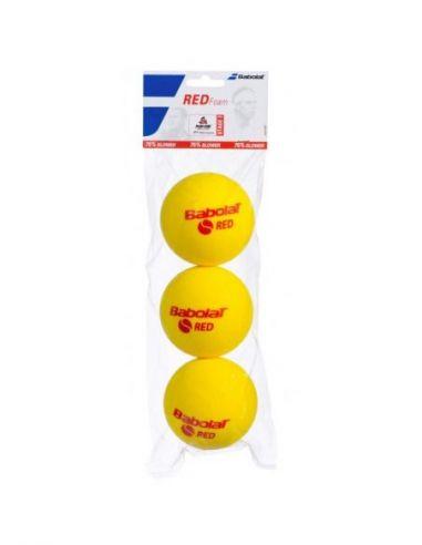 Мячи BABOLAT для большого тенниса RED FOAM X3 купить в Киеве Украина