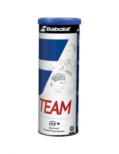 Банка мячей BABOLAT для большого тенниса TEAM X4 купить в Киеве Украина