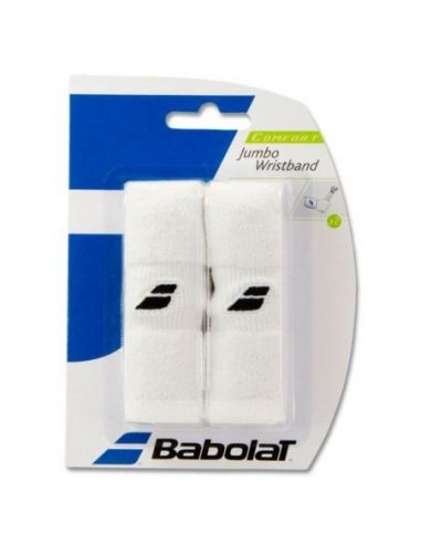 Напульсник Babolat Jumbo Wristband  White. купить в Киеве Украина