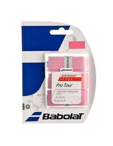 Намотка Babolat Pro Tour Overgrip X3 pink. купить в Киеве Украина